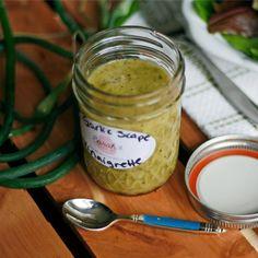 Garlic Scape Vinaigrette Recipe