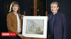 An art collector swears they've found artwork by the legendary William Nicholson. But can BBC presenters Fiona Bruce, Philip Mould prove them right? Nickelodeon Game Shows, Crystal Maze, Fiona Bruce, William Nicholson, Ghost Bride, Antiques Roadshow, Tv Presenters, Style Challenge, Beautiful Drawings