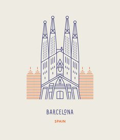 Sagrada Família church in Barcelona, Spain. World Landmarks | Makers Co.
