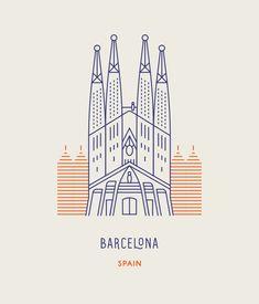 Sagrada Família church in Barcelona, Spain. World Landmarks | Makers Co.