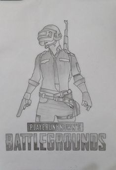 Newest Photo pubg drawing Style : PUBG sketch. Shading Drawing, Pencil Sketch Drawing, Anime Drawings Sketches, Marvel Drawings, Boy Drawing, Pencil Art Drawings, Doodle Drawings, Cute Drawings, Drawing Ideas
