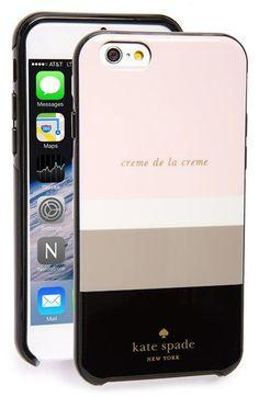 kate spade new york 'crème de la crème' iPhone 6 case available at #Nordstrom