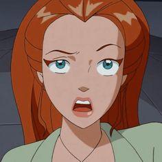 Cartoon Icons, Girl Cartoon, Cartoon Art, Red Head Cartoon, Aesthetic Japan, Aesthetic Anime, Avatar Picture, Disney Icons, Totally Spies