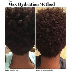 Follow @juan_mos 's #maximumhydrationmethod journey on instagram! This is 9 repeats of the regimen, great progress, beautiful results! #4chair #4bhair #4ahair #kinkyhair #naturalhair #washngo #twistout #MHM #maxhydrationmethod