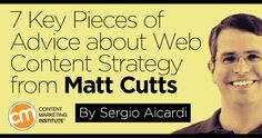 In over 500 videos, Google's Matt Cutts answered the questions businesses asked. TheShortCutts.com abbreviates them all. Want to learn his insight into website content? Start with these seven abbreviated answers and author takeaways.