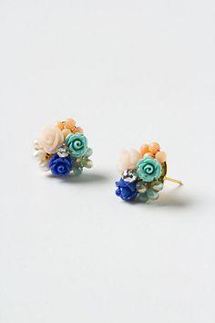 Marine Cluster Earrings - Anthropologie.com