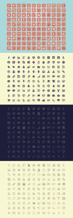 The Uncreativelab Free Icons