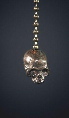 skull pull chain #bathroom #decor #accessories