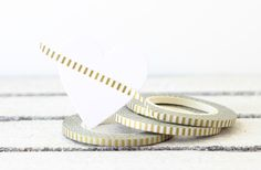Gold Washi Tape, Thin Washi Tape, Christmas Washi Tape, Skinny Washi Tape, Metallic Gold Washi, Planner Washi Tape, Planner Decoration by MailboxHappiness on Etsy https://www.etsy.com/listing/209418607/gold-washi-tape-thin-washi-tape