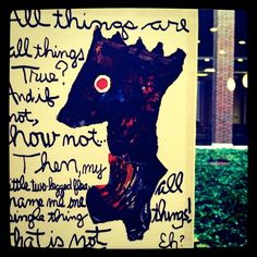 Picture poem by Kenneth Patchen.