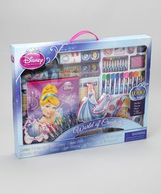 Take a look at this Cinderella World of Creativity Set by Disney on #zulily today!