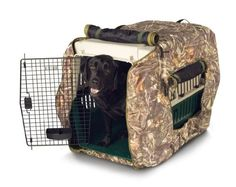 Classic Accessories Insulated Dog Kennel Jacket, Realtree Max-4 Camo, X-Large $66.31