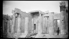 Athens. Acropolis; central wing.  Creator:	   	Dorothy Burr Thompson    	   	   	1924