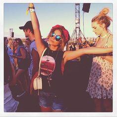 Coachella with Sarah Hyland!