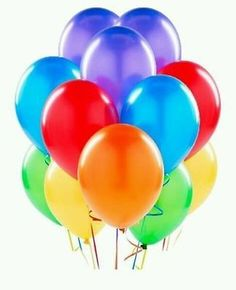 Round neon bright coloured or assorted #latex #balloons party #wedding birthday,  View more on the LINK: http://www.zeppy.io/product/gb/2/262508540851/