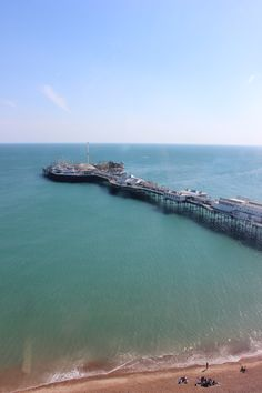 Brighton's Wheel View - Brighton Pier - UK
