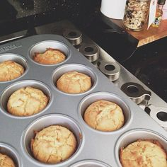 ++ fresh baked quinoa muffins.    http://blog.satsukishibuya.com/index.php/2012/08/15/in-the-kitchen-simple-quinoa-muffins/