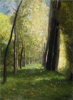Lane of Trees - Odilon Redon