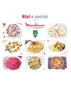 Nuovo ricettario Risi e Sorrisi - http://www.mycuco.it/cuisine-companion-moulinex/nuovo-ricettario-risi-e-sorrisi/?utm_source=PN&utm_medium=Pinterest&utm_campaign=SNAP%2Bfrom%2BMy+CuCo