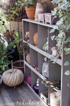 Practical Balcony Storage Ideas