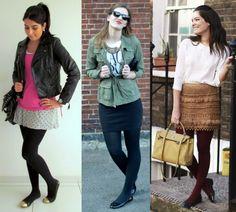 Como combinar meia-calça com o sapato na montagem dos seus looks - Dicas de Mulher