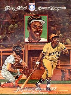 Cover of Baseball Hall of Fame Induction Program, 1988 with Willie Stargell