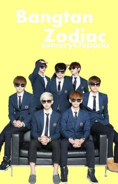 Book Cover Kpop ☯Abierto  - Bangtan Zodiac. #wattpad #fanfic