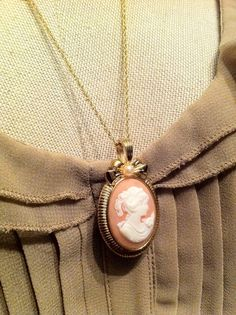 I have always wanted a cameo necklace