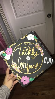 Gilmore girls graduation cap. What she tackles, she conquers.