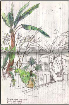 Carnet de voyage #marrakech Juliette Delpech