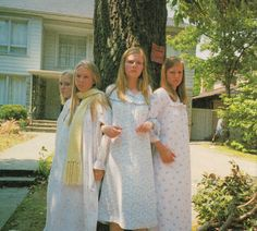 the virgin suicides: the girls were the most popular, desired and mysterious girls in town. Probably because of a combination of them being virgins and traditionally attractive,