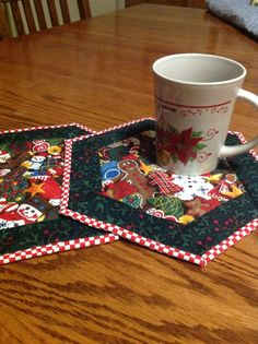 Mug mat hexagonal