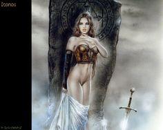 Luis Royo Gallery and Posters Boris Vallejo, Fantasy Illustration, Illustration Sketches, Poster S, Poster Prints, Fantasy Anime, Dark Fantasy, Julie Bell, Serpieri