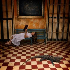 """Floors...  """"Afternoon With Octavio"""" (2010)  by Tom Chambers"""