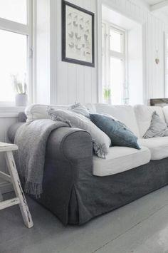 26 Ikea's Ektorp Sofa Ideas To Try | ComfyDwelling.com