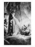 The Great Raising of Lazarus Giclee Print by Rembrandt van Rijn