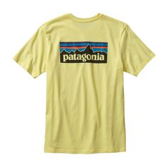 Durable 100% organic cotton, regular-fit T-shirt made with U.S.-grown organic cotton sourced from member farms of the Texas Organic Cotton Marketing Cooperative. We screen-print the Patagonia original graphic with inks that are PVC- and phthalate-free.