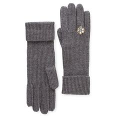 Whimsical silver ring cocktail gloves from Kate Spade. I think I'll treat myself.