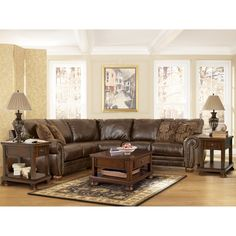 Boston Loft Furniture 2130 Sectional with Optional Ottoman - ATG Stores