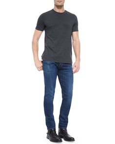 M5 Rebel Slim Denim Jeans, Blue