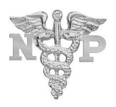 NursingPin - Nurse Practitioner NP Nursing Pin with Diamond in Silver *** For more information, visit image link.