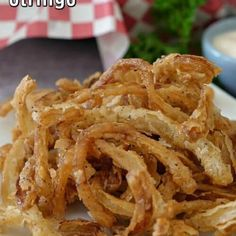Crock Pot BBQ Beef Brisket - Great Grub, Delicious Treats Onion Strings, Beef Empanadas, Homemade Lasagna, Cheese Bites, Side Dish Recipes, Side Dishes, Fried Onions, Cake With Cream Cheese, Cheesy Chicken