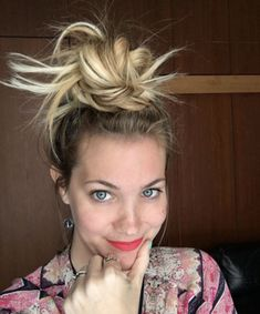 Chic Octopus Buns Hairstyle