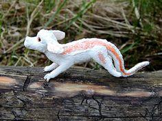 Falkor figurine sculpture handmade of clayThe Neverending
