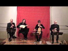 Bernart de Ventadorn : Can l'erba fresch (Ensemble Céladon : chant, luth, vièle, flûte, perc) - YouTube