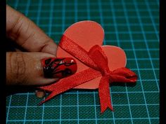 DIY-Envelope Paper heart card Gift || Make for Boyfriend/Girlfriend - YouTube