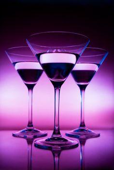 Three martini's