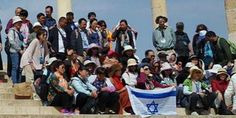 Chinese Christians Wave Israeli Flag on Temple Mount For First Time Since '67 - Breaking Israel News   Latest News. Biblical Perspective.