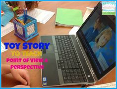 Teaching Point of View using a scene from Toy Story.  High engagement!