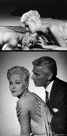 Kim Novak & Jeff Chandler in Jeanne Eagles (1957)